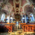 Derby Cathedral Nave 2 - Vertorama by Yhun Suarez