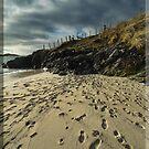 Footprints in the Sand by Winksy