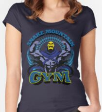 SNAKE MOUNTAIN GYM Fitted Scoop T-Shirt