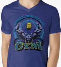 SNAKE MOUNTAIN GYM Men's V-Neck T-Shirt