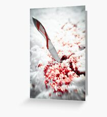 Whetted  Greeting Card