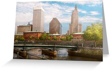 City - Rhode Island - Providence - The city of Providence, RI by Michael Savad