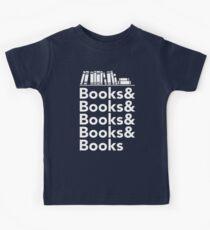 Books | Literary Book Nerd Helvetica Typography Kids Clothes