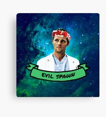Evil Spawn Canvas Print