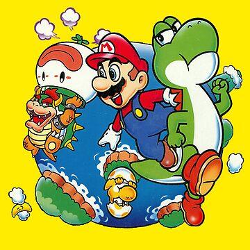Super Mario World - Around the World by Ravioko