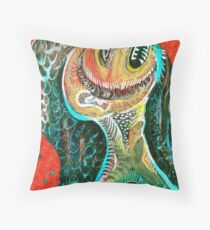 The Big Tooth Ache Throw Pillow