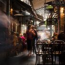 Melboune Little lanes and coffee shops  by Hany  Kamel