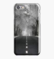 Winter road - iPhone case iPhone Case/Skin