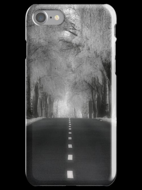 Winter road - iPhone case by Britta Döll