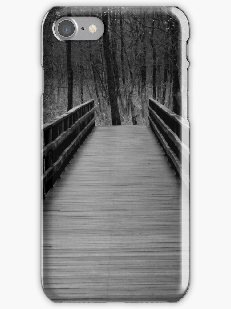 The path - iPhone case by Britta Döll