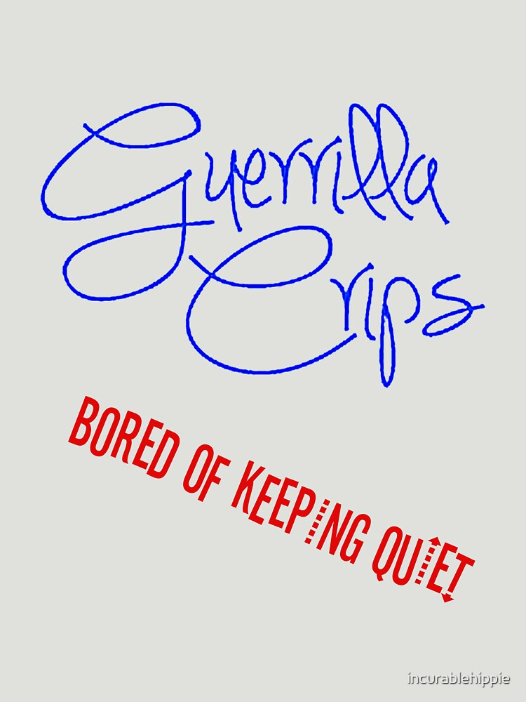 Guerrilla Crips by incurablehippie
