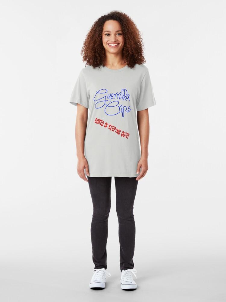 Alternate view of Guerrilla Crips Slim Fit T-Shirt