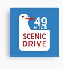 49-Mile Scenic Drive, California, USA Canvas Print