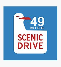 49-Mile Scenic Drive, California, USA Photographic Print