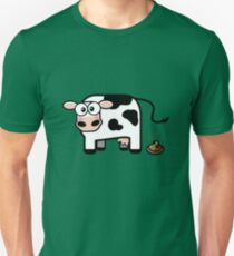 Funny Pooping Cow T-Shirt