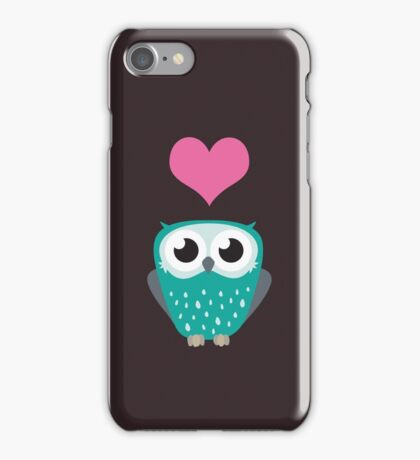 Owl Love You Forever (Boy) iPhone Case/Skin