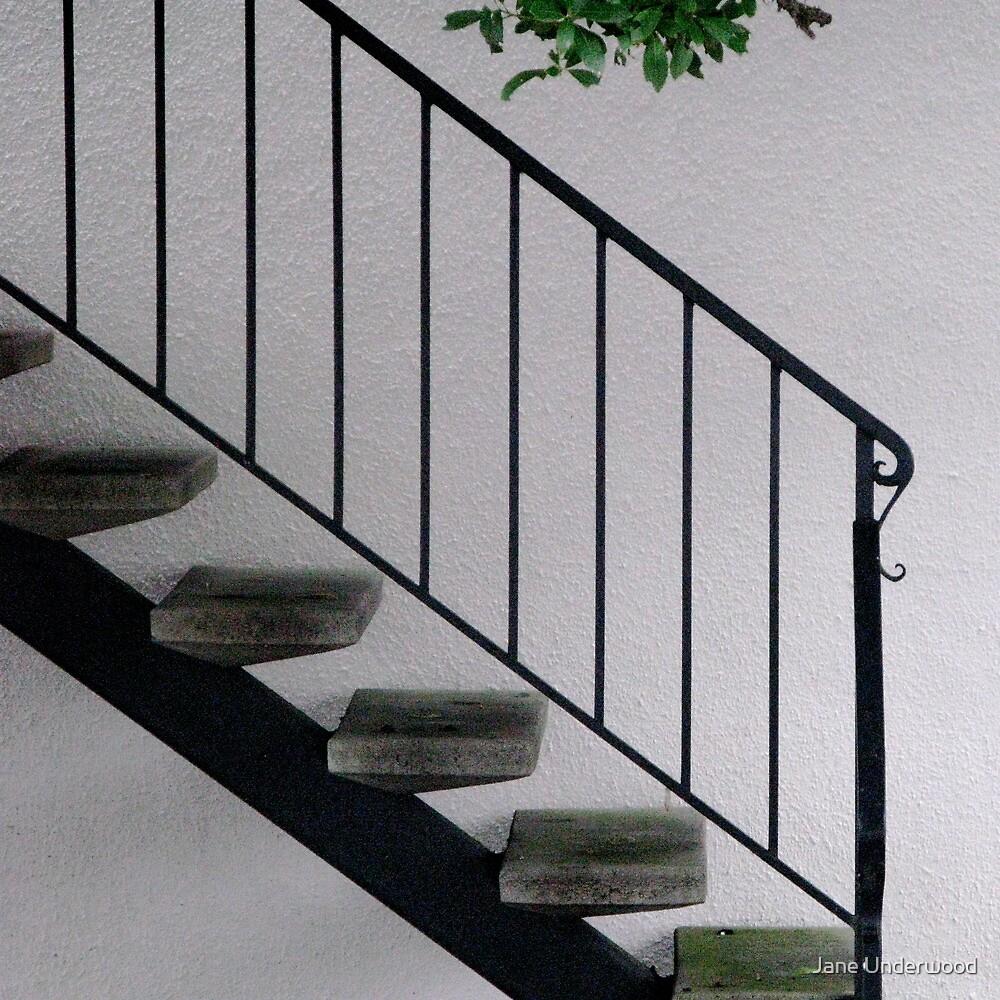 Stairway Zen by Jane Underwood