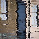 Chippenham - reflections in the river #1 by Graham Hiscock