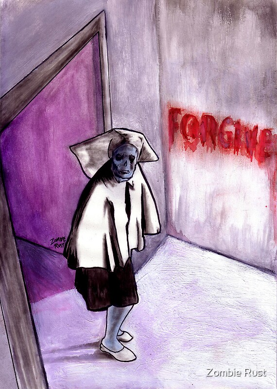 Forgiveness Drawing Posters Redbubble