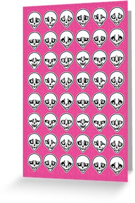Skull Feels (Pink Version) by blacklilypie