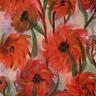 Flowers in bloom by George Hunter
