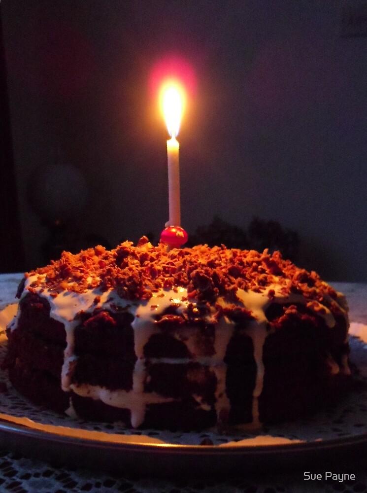 Birthday cake by Sue Payne