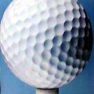 Golf ball by Valeria Lee