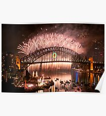 Simply The Best ! - Sydney NYE Fireworks  #10 Poster