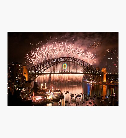 Simply The Best ! - Sydney NYE Fireworks  #10 Photographic Print