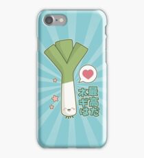 Leeks are Awesome (Japanese Version) iPhone Case/Skin