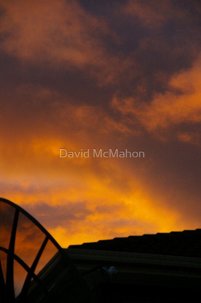 The Dish Ran Away With The Clouds by David McMahon