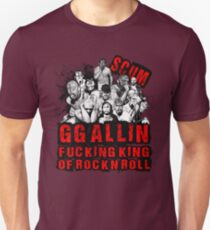 GG Allin king of rock n roll T-Shirt