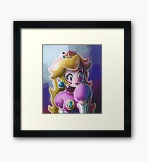 Princess Peach Framed Print