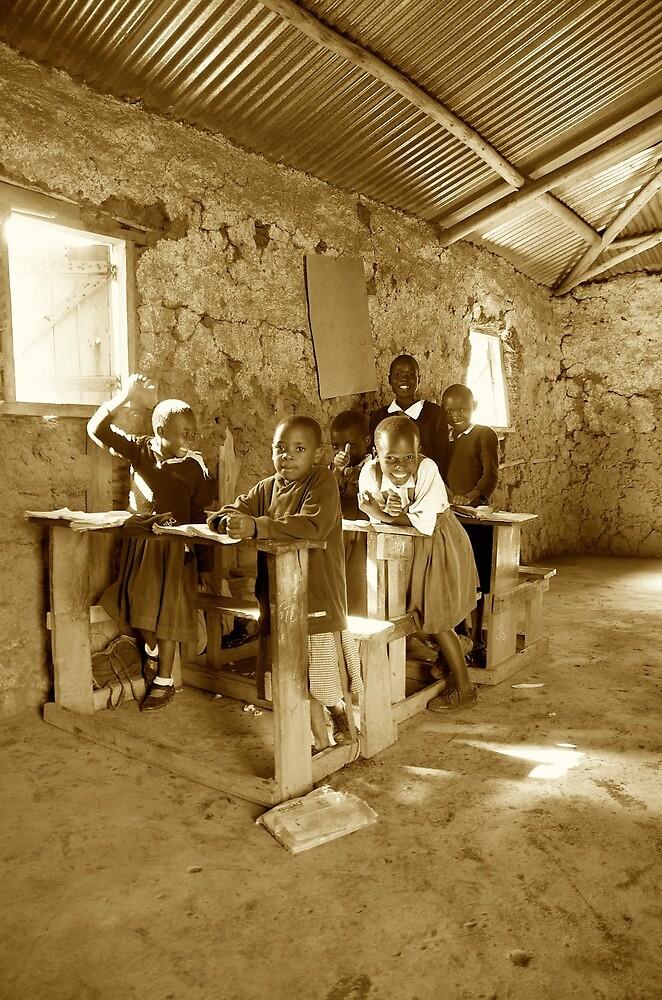 Kenyan Classroom by curtophoto