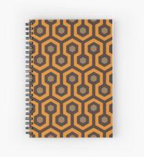 The Vortex - Orange Spiral Notebook