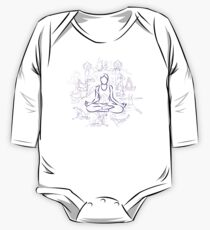 Violet Yoga One Piece - Long Sleeve