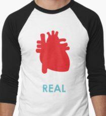 Reality - turquoise Men's Baseball ¾ T-Shirt