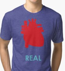 Reality - turquoise Tri-blend T-Shirt