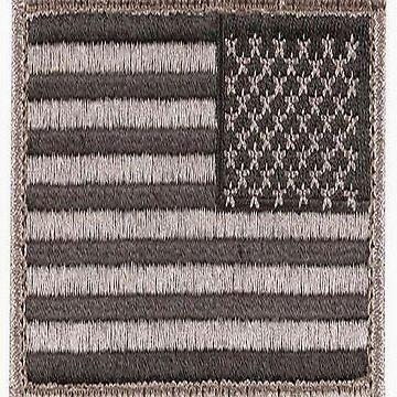 Army Uniform U.S. Flag (UCP Color) by A1RB