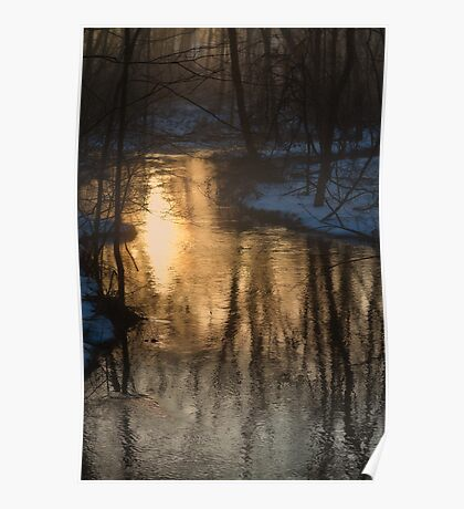 Early Winter Morning Poster