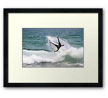 Julian Wilson, Winner Breaka Burleigh Pro Framed Print