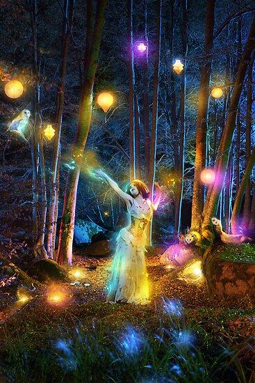 Night Lights by jena dellagrottaglia