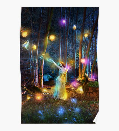 Night Lights Poster