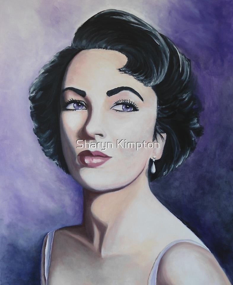 Elizabeth Taylor by Sharyn Kimpton
