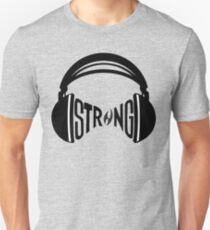 FNTS Strong Headphones Slim Fit T-Shirt