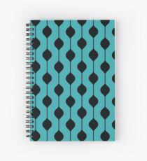 The Droplet - Blue Spiral Notebook