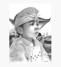 Balinese Child Photographic Print