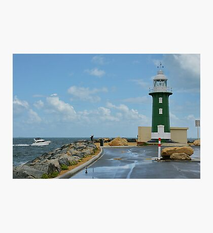 South Mole Lighthouse Photographic Print