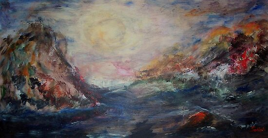Crossing the Strait  by Mary Sedici