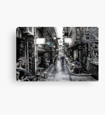 "Melbourne Degraves St "" Surreal ST series ""  Canvas Print"
